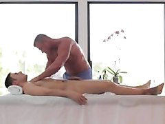 Sensual erotic dick massage