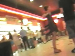 Upskirt At Movie Theatre