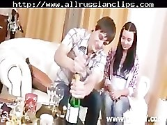 Russian Couple Preparing For Sex russian cumshots swallow