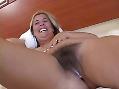 Hairy MILF Interracial Creampie