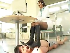 japan boot trample