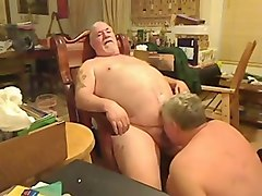 fat daddy getting sucked by fat daddy