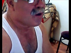 turkish old grandpa wanking