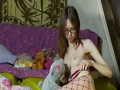 18 Years Old Skinny Girl Undressing