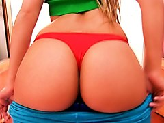 big-ass teen! blonde tiny teen has powerfull big round ass!