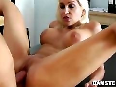 russian wife wants her shaved tight pussy pounded