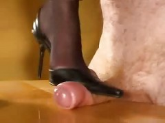 Cock Trampling In High Heels