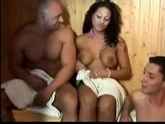 Bi Mmf - Steaming Up The Sauna