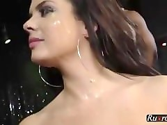 keisha grey enjoys interracial gangbang hd