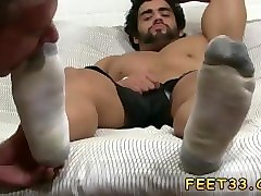 gay foot fetish movies and gay feet up ass alpha-male atlas worshiped