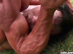 mixed wrestling fbb beating