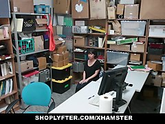 shoplyfter - teen blackmailed & fucked for stealing