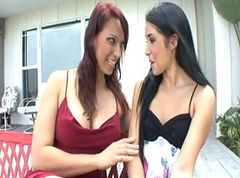 Stepmom Teaches Daughter Finer Art of Lesbianism