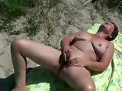 old man licking pussy of my wife at asserbo beach
