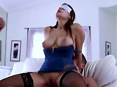 blindfolded wife shared with friend
