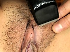 subtitled uncensored japanese amateurs pubic hair shaving