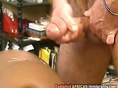 african hottie in trio with wealthy man