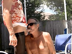jamie blows jenny transvestite cock slut! #5