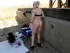 Exotic Amateur video with Solo, Outdoor scenes