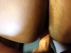 Interracial Quickie With Big Ass Ebony
