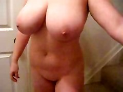 Amateur Lateshay Shaking My 36 F Natural Tits In Your Face