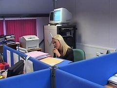 British Slut Jane Berry Gets Fucked In The Office