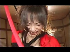 Tied And Toyed Hairy Asian