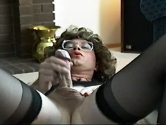 Masturbation Fun While Crossdressed