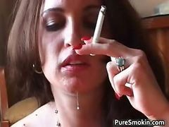 Britney Rays Smoking Steamy Oral Sex  Part3