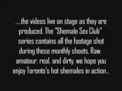 Amateur Shemale Sex In Club 1